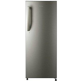 Haier HRD-2157/1954 BS-R 195 Litres Direct Cool Single Door 5 Star Refrigerator  (Grey)