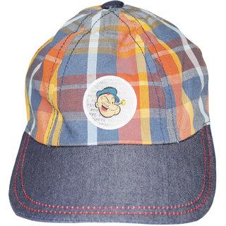 Wonderkids Popeye Patch Kids Cap, 12-18, 18-24  24-36 Months