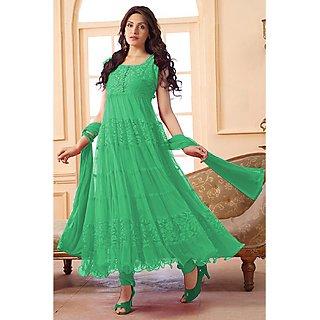 Eye Catching Green Net Salwar Kameez EBSFSK09101H