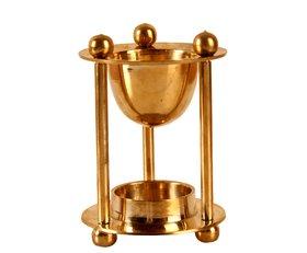 Arghyam Brass Oil Burner And Oil Diffuser
