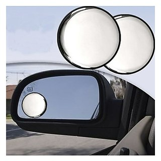 TAKECARE 3r Round Flexible Car Blind Spot Rear Side Mirror FOR FORD FIESTA CLASSIC