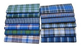 Cotton Lungi Traditional Wear (Pack of 2)