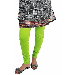 Raj Fashion Full Length Cotton Lycra Leggings Parrot