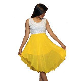 Sexo Two Step Yellow Dress