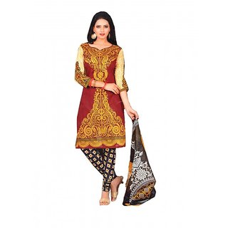 Kapoor Creations Cotton Printed Suit