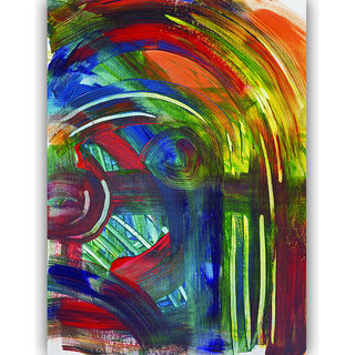 Vitalwalls Abstract Painting Premium Canvas Art Print,On Pure Wooden Frame(Abstract-339-F-60cm)