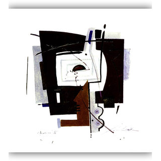 Vitalwalls Abstract Painting Premium Canvas Art Print.(Abstract-341-30cm)