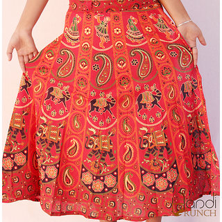 Handicrunch paisley print skirt for girls