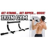 Iron Gym Door Bar For Long Height Same As U See On T,v