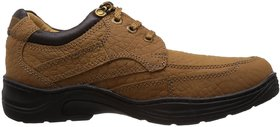 Redchief Mens Leather Trekking and Hiking Footwear Boots