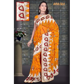 Heavy Embroidery Sarees - 246