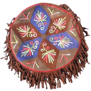 IRS Kashmiri Round shaped hand crafted Shoulder bag