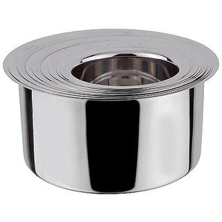 Grish Stainless steel Flat Bottom Patila - set of 9