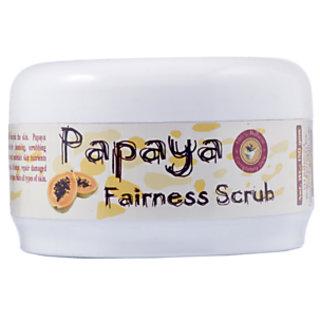 Herbal Papaya Fairness Face Scrub