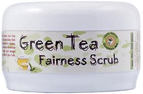 Herbal Green Tea Fairness Face Scrub