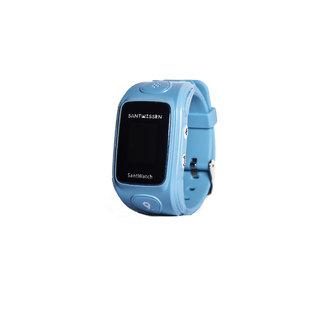 SantWatch (Blue) Wearable kids GPS tracker phone, personal care taker