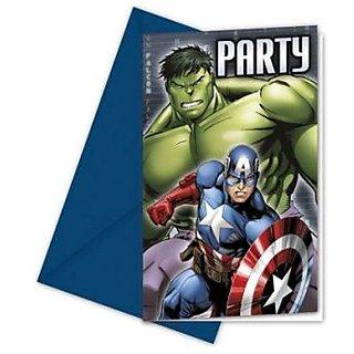 Avengers Multi Heroes-Invitations  Envelopes
