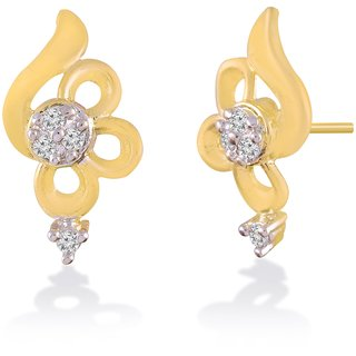 Jewelscart.In Fashion Earrings Jewellery Gold Plated Studs For Woman-605