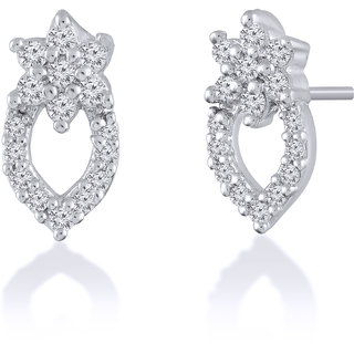 Jewelscart.In Fashion Earrings Jewellery Silver Plated Studs For Woman-622