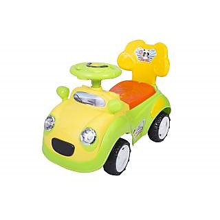 Ez Playmates Panda Car Ride On Green