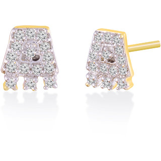 Jewelscart.In Fashion Earrings Jewellery Gold Plated Studs For Woman-641