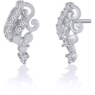 Jewelscart.In Fashion Earrings Jewellery Silver Plated Studs For Woman-662
