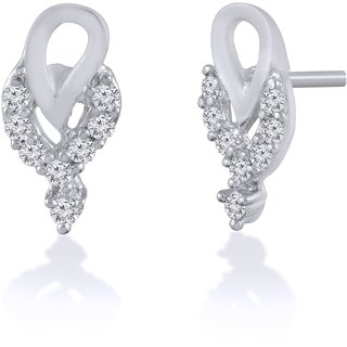 Jewelscart.In Fashion Earrings Jewellery Silver Plated Studs For Woman-678