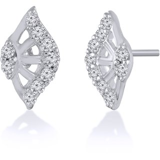 Jewelscart.In Fashion Earrings Jewellery Silver Plated Studs For Woman-706
