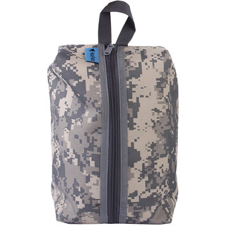 Travel Shoes Sundries Storage Bag Pouch Cover Case 6L Digital Camouflage