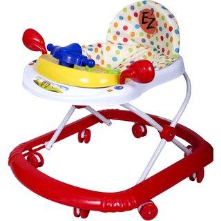 Ez Playmates Fun Baby Walker Red