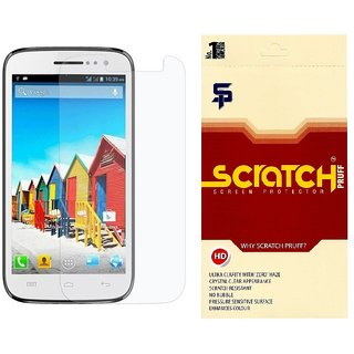Scratch Pruff Matte Screen Guard For Micromax Canvas Fire A104