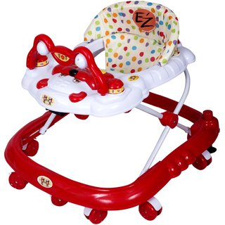Ez Playmates Baby Walker Red