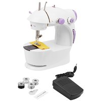 Selvel Portable Electric 4 In 1 Sewing Machine with Foot Pedal - S201