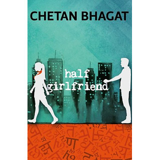 Half Girlfriend By Chetan Bhagat (English  Paperback)