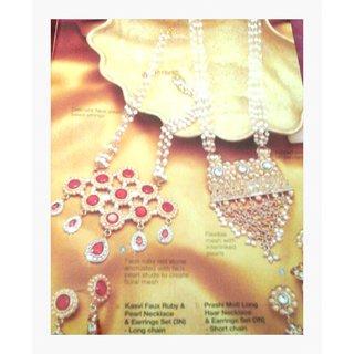 Grsnd  Festive look  Necklace set