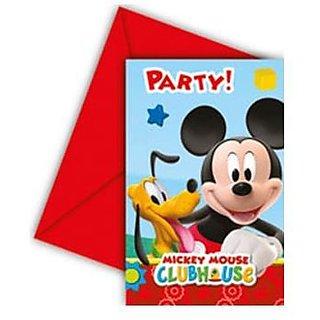 Playful Mickey-Invitations  Envelopes