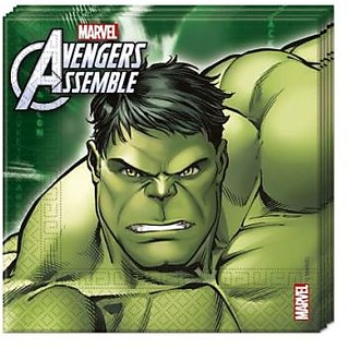 Avengers Multi Heroes-Two-Ply Paper Napkins