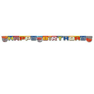 Cars - Happy Birthday Die Cut Banner
