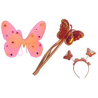 Plastic Wingset Double Layer - Light Pink