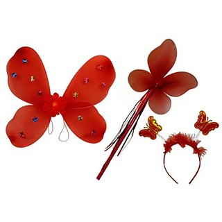 Plastic Wingset Single Layer - Red