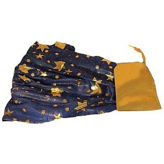 Plastic Colorful Cloak Blue Star 75 Cm