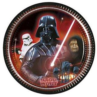 Star Wars  Heroes-Paper Plates