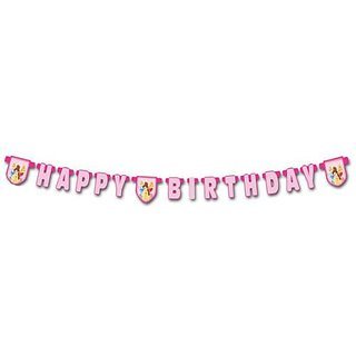 Disney Princess - Happy Birthday Die Cut Banner