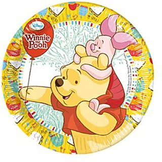 Winnie Paper Plate