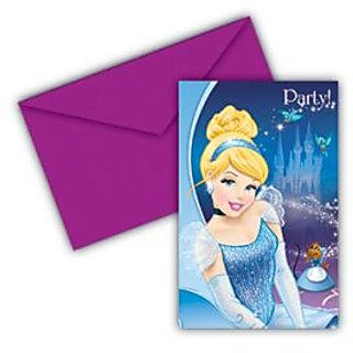 Cinderella Invitations  Envelopes