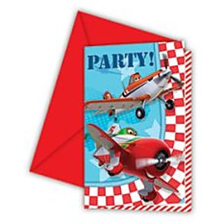 Disney Planes Invitations  Envelopes