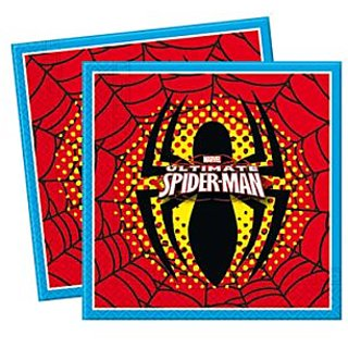 Ultimate Spiderman Two-Ply Napkin