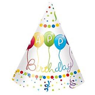 Happy Birthday Streamers Hat