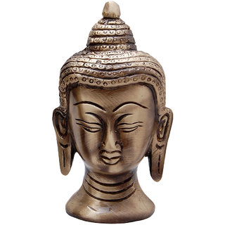 Brass Buddha Head- Medium