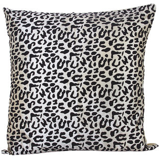 Leopard Throw Pillow Case Cushion Cover - Beige